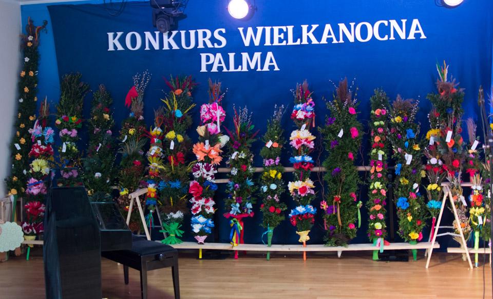 II Gminny Konkurs na  Palmę Wielkanocną