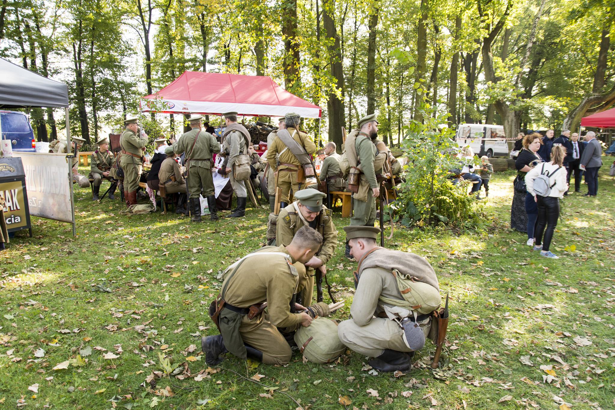 """Rekonstrukcja historyczna """"Bitwy o Kraków 1914 r."""