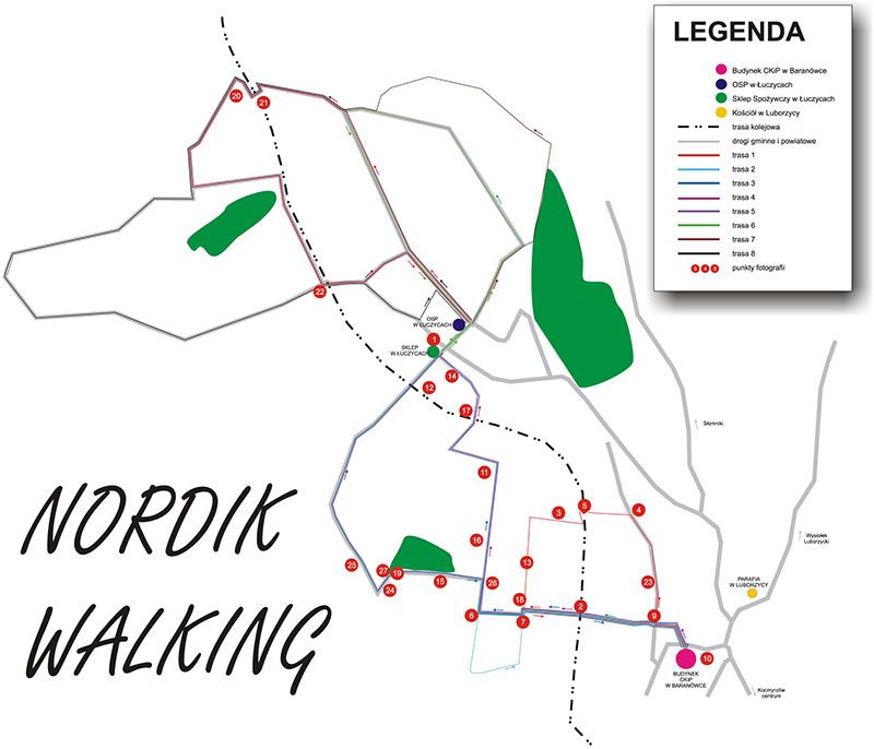 Trasy Nordic Walking